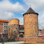Stagiewna Gate in Gdansk, Poland. — Stock Photo