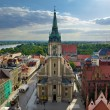 Torun panorama — Stock Photo #6493009