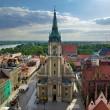 Torun panorama — Stock Photo