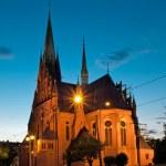 Garrison Church of St. Catherine in Torun, Poland. — Stock Photo