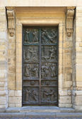 Church door — Stock Photo