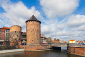 Stagiewna Gate in Gdansk, Poland. — Stock Photo