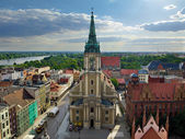 Torun panorama — Stock Photo