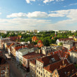 Panorama of Torun, Poland. - Stock Photo