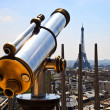 Telescope with Eiffel Tower — Stock Photo #6530740