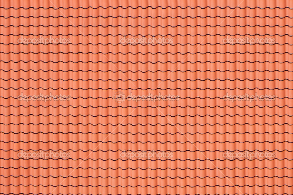 Pattern of red roof stock photo nightman1965 6530701 for Roof tile patterns
