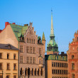 Old town buildings in Stockholm, Sweden — Stock Photo #6443177