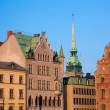Old town buildings in Stockholm, Sweden — Stock Photo