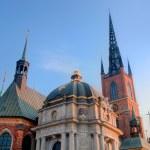 Stockholm, Sweden. The church Riddarholmen — Stock Photo #6443186