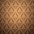 Old retro wallpaper in sepia — Stock fotografie
