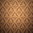 oude retro behangpapier in sepia — Stockfoto