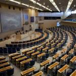 Interior of Swedish parliament in Stockholm — Stock Photo #6443278