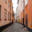Stockholm, Sweden. Building in the old town — Stock Photo #6443300