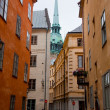 Stockholm, Sweden. Building in the old town — Stock Photo #6443308