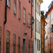 Stockholm, Sweden. Building in the old town — Stock Photo #6443317