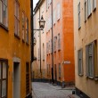 Stockholm, Sweden. Building in the old town — Stock Photo #6443323