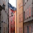 Stockholm, Sweden. Building in the old town — Stock Photo #6443331