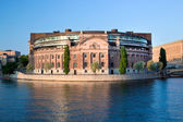 Parliament building in Stockholm, Sweden — Stock Photo