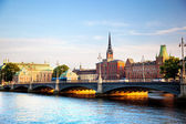 Stockholm, Sweden in Europe. Waterfront view — Stock Photo