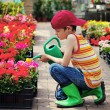 Little gardener — Stock Photo #5756493
