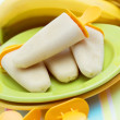 Banana ice creams — Foto de Stock