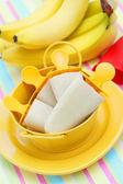 Banana ice creams — Stock Photo