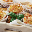 Royalty-Free Stock Photo: Muffins with ham and cheese
