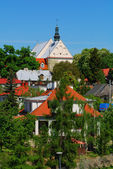 Old Renaissaice City in Sandomierz. Poland. — Stock Photo