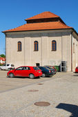 The old synagogue in Sandomierz, Poland — Foto Stock