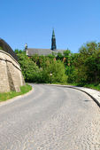 Cathedral in Sandomierz, Poland — Stock Photo