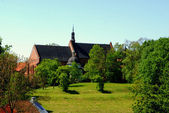 St. James the Apostle Church in Sandomierz — Stock Photo