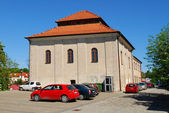 The old synagogue in Sandomierz, Poland — Stok fotoğraf