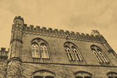 Historic building in Torun, Poland — Stock Photo
