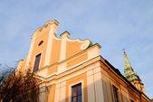 Kościoła akademickiego w toruniu, polska. — Zdjęcie stockowe