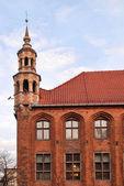 The Old Town Hall in Torun — Stock Photo