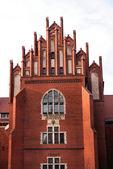 The building of university of Torun — Stock Photo