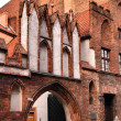 Old church in Torun, Poland. — Stock Photo