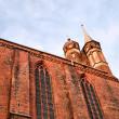 Old church in Torun, Poland. — Stock Photo