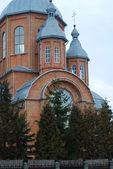 Vieille église orthodoxe somwhere en ukraine — Photo