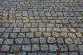 Old paving stone texture — Stock Photo