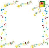 Muzyka melodia — Zdjęcie stockowe