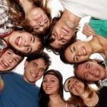 Cheerful young having fun summer holidays. — Stock Photo