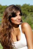 The beautiful Argentinian girl — Stock Photo