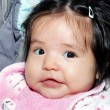 Portrait of the nice Latin American baby - Stockfoto