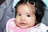 Portrait of the nice Latin American baby — Stock Photo