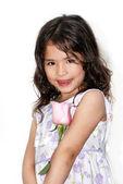 Portrait of the nice Latin American girl — Stock Photo