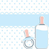 Baby design elements . Vector Illustration — Stock Vector