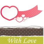 Valentine's heart. vector illustration — ストックベクタ