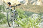 Mountain biking — Stock Photo
