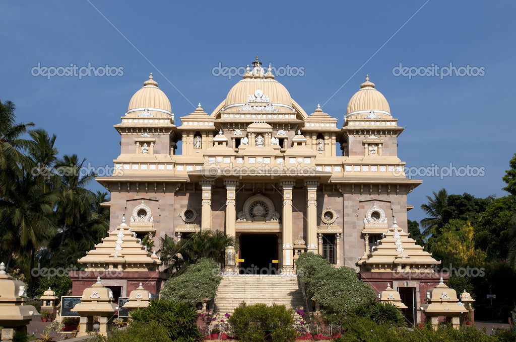 Ramakrishna Mutt in Chennai India a place for peace and prayer — Stock Photo #5819261